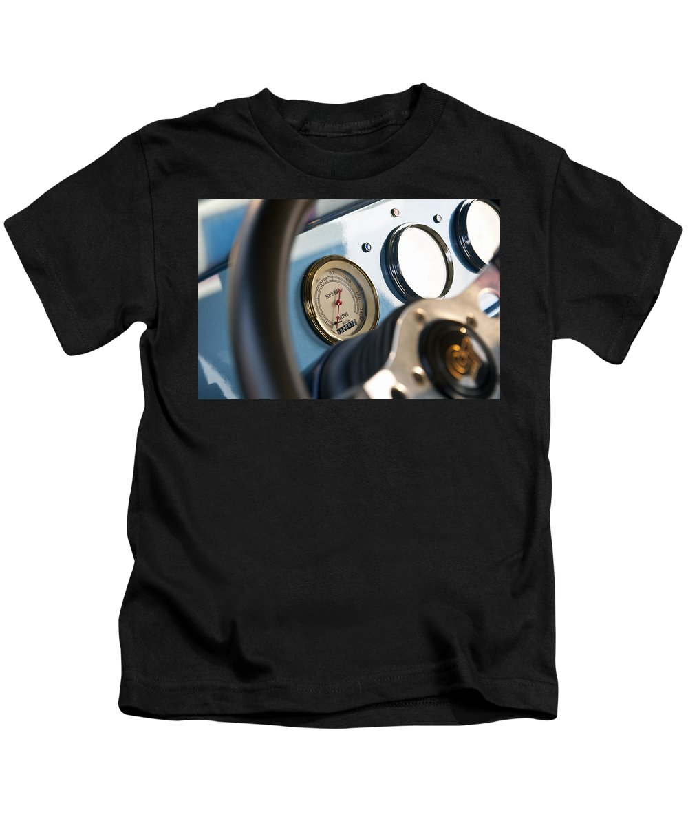 Ford Kids T-Shirt featuring the photograph Ford Truck Dashboard by Glenn Gordon