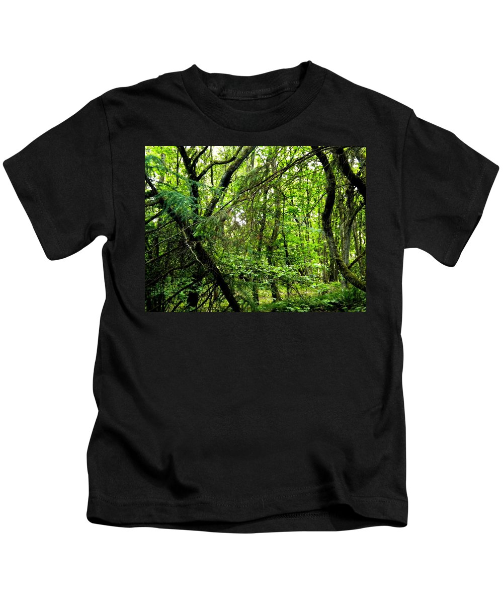 Colette Kids T-Shirt featuring the photograph Forest In Denmark by Colette V Hera Guggenheim