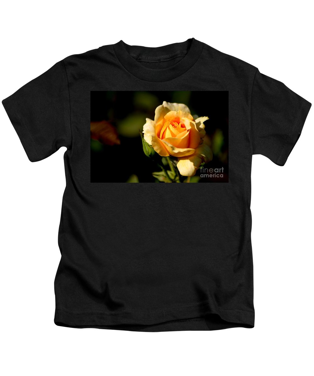 Roses Kids T-Shirt featuring the photograph Friendships Are Forever by Living Color Photography Lorraine Lynch