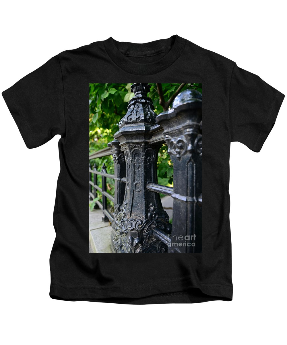 Gothic Design Kids T-Shirt featuring the photograph Gothic Design by Paul Ward