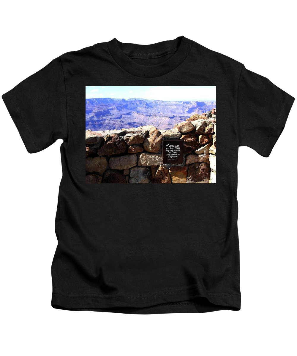 Grand Canyon Kids T-Shirt featuring the photograph Grand Canyon 35 by Will Borden