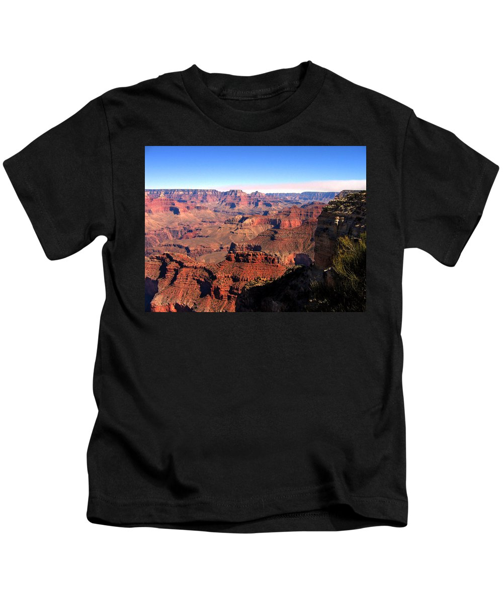 Grand Canyon Kids T-Shirt featuring the photograph Grand Canyon Daytime by Denise Keegan Frawley
