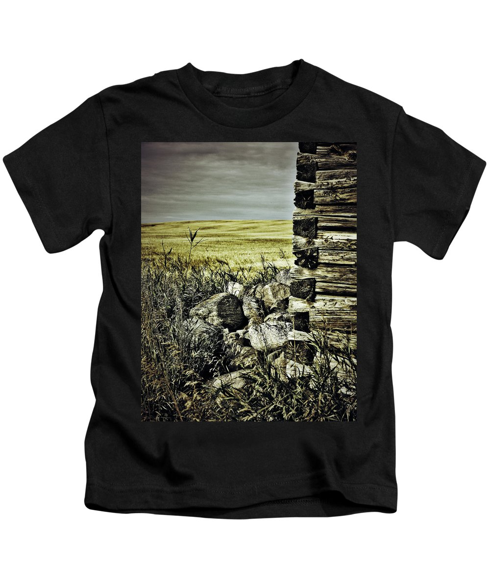 Photographer Kids T-Shirt featuring the photograph Hidden From Stones by The Artist Project