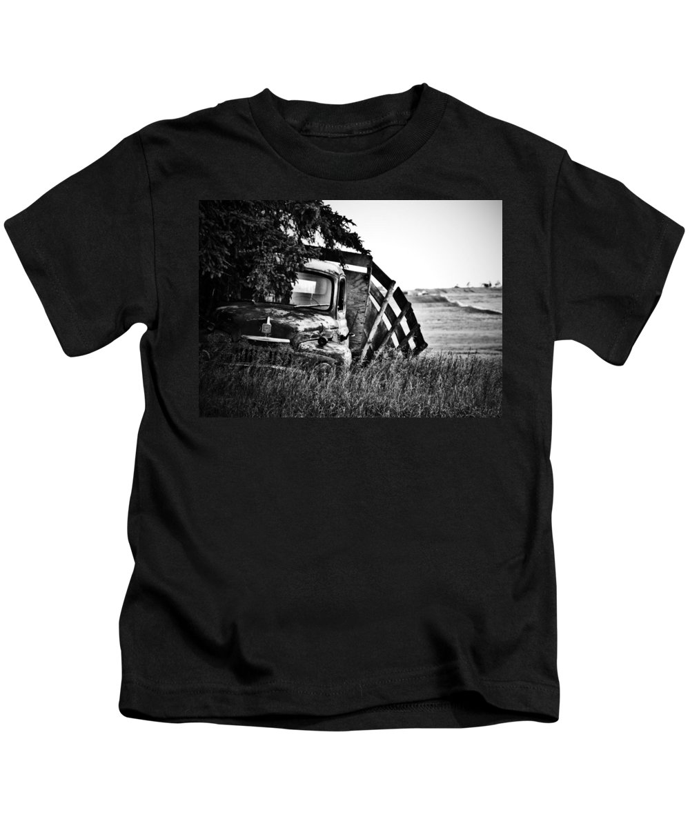 Street Photographer Kids T-Shirt featuring the photograph Hill Top Tumble by The Artist Project