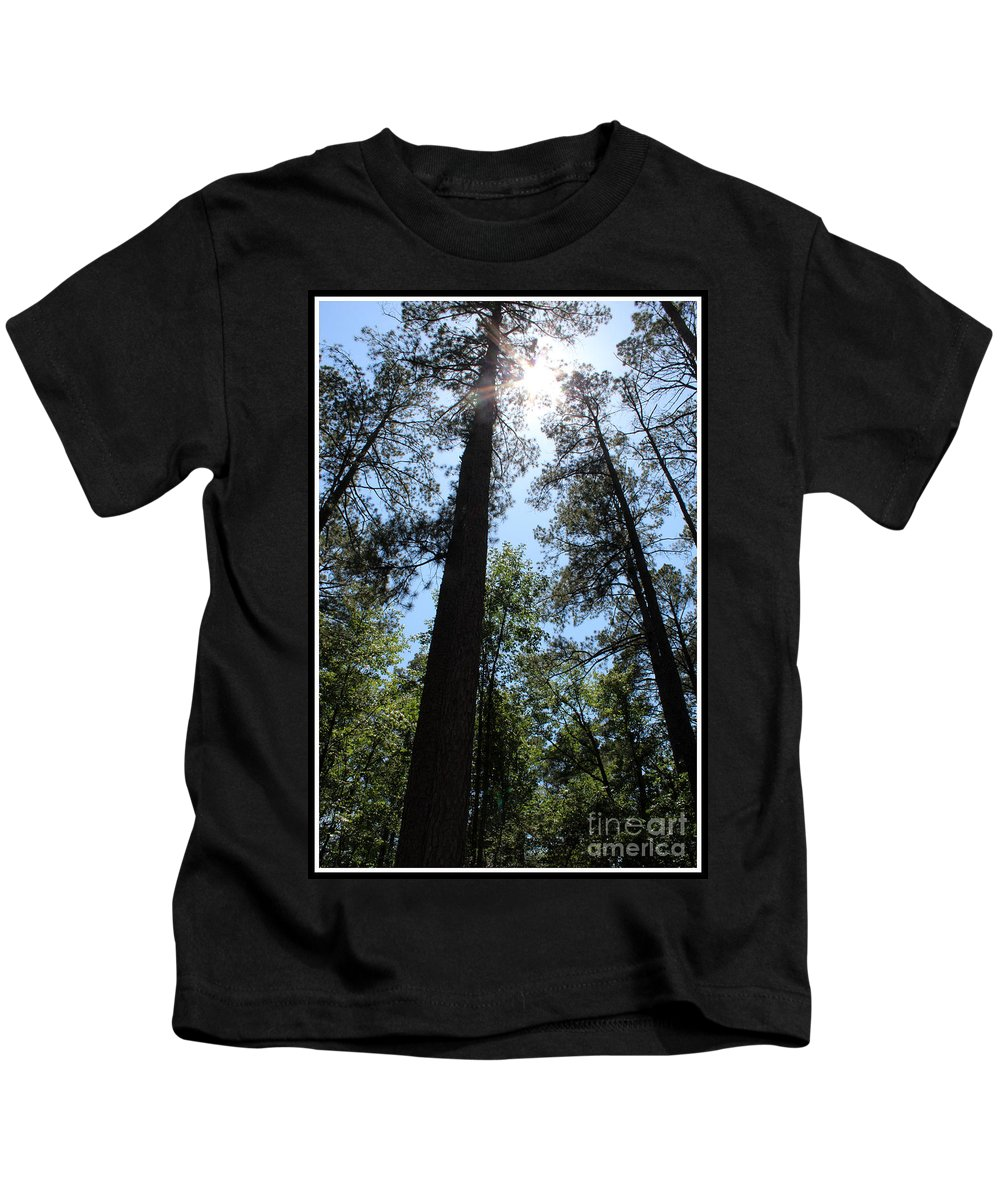 How Great Thou Art Kids T-Shirt featuring the photograph How Great Thou Art by Kathy White