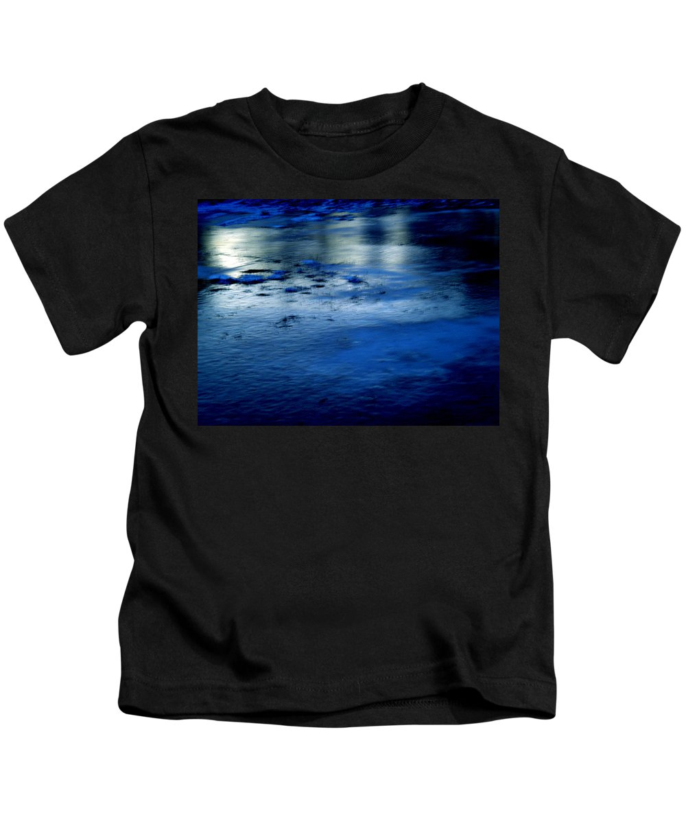 Colette Kids T-Shirt featuring the photograph Ice Frost And Snow by Colette V Hera Guggenheim