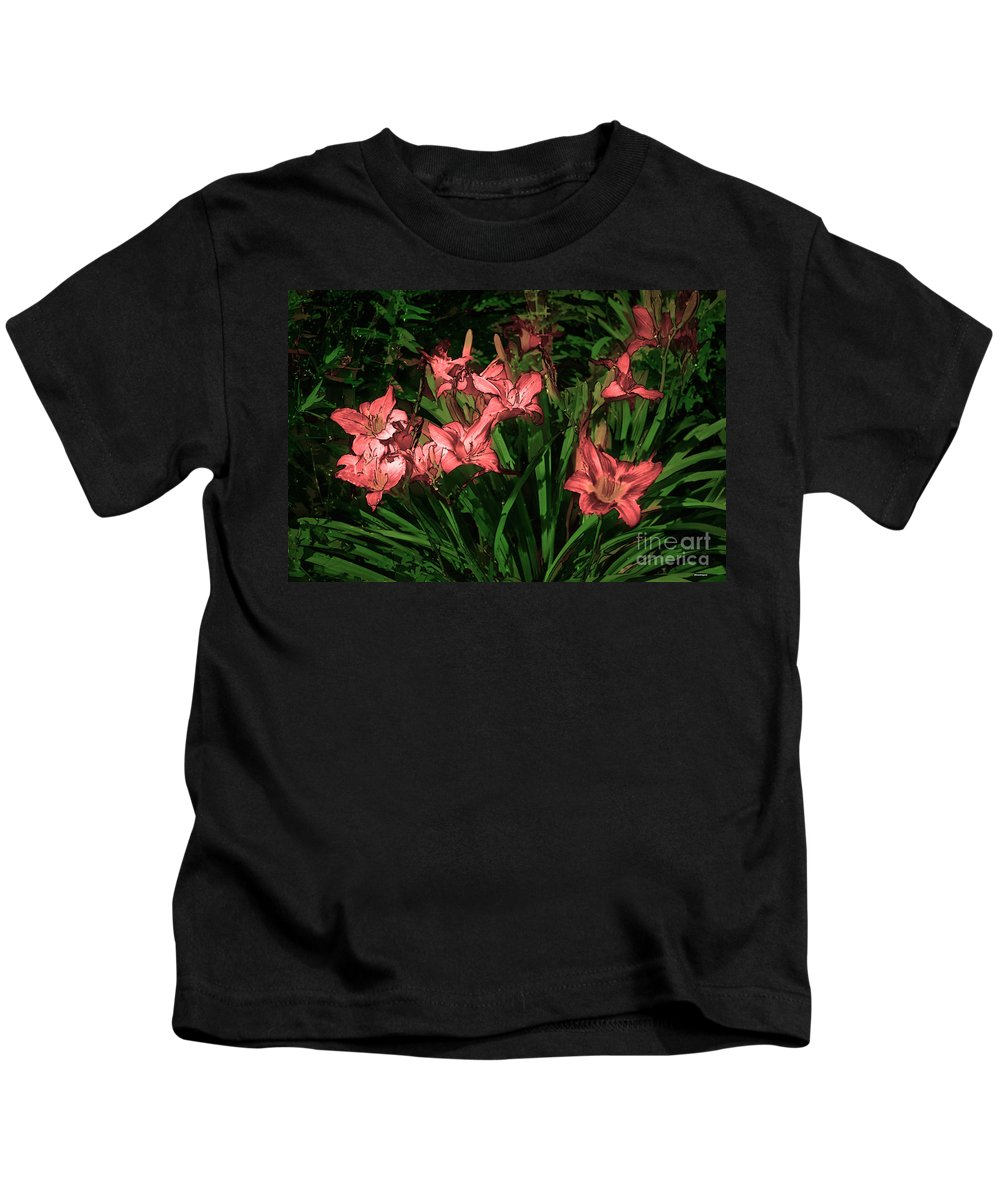 Artistic Photography Kids T-Shirt featuring the photograph In The Pink by Tom Prendergast