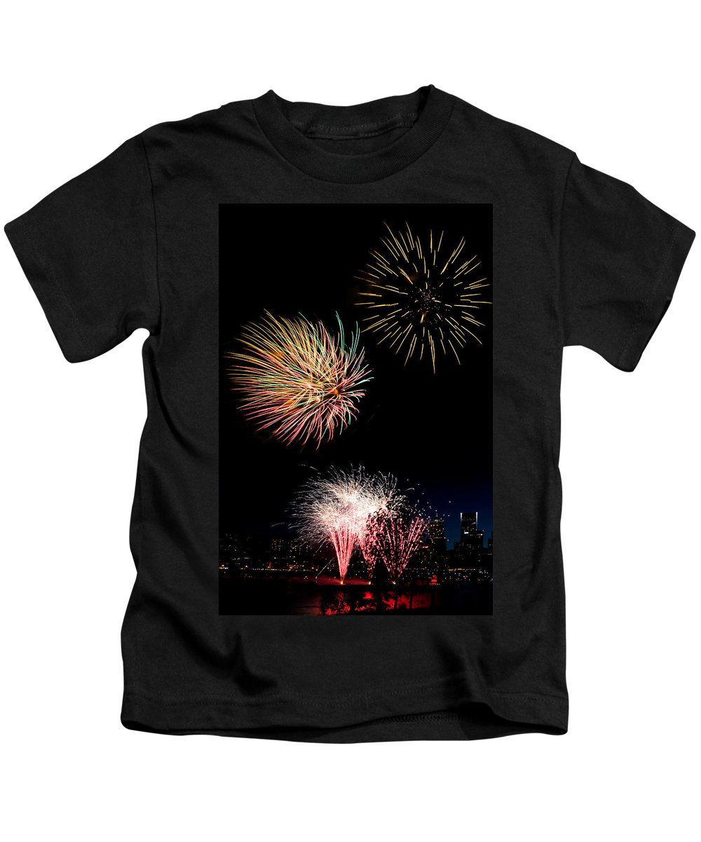 Independence Day Kids T-Shirt featuring the photograph Independence Day by Wes and Dotty Weber