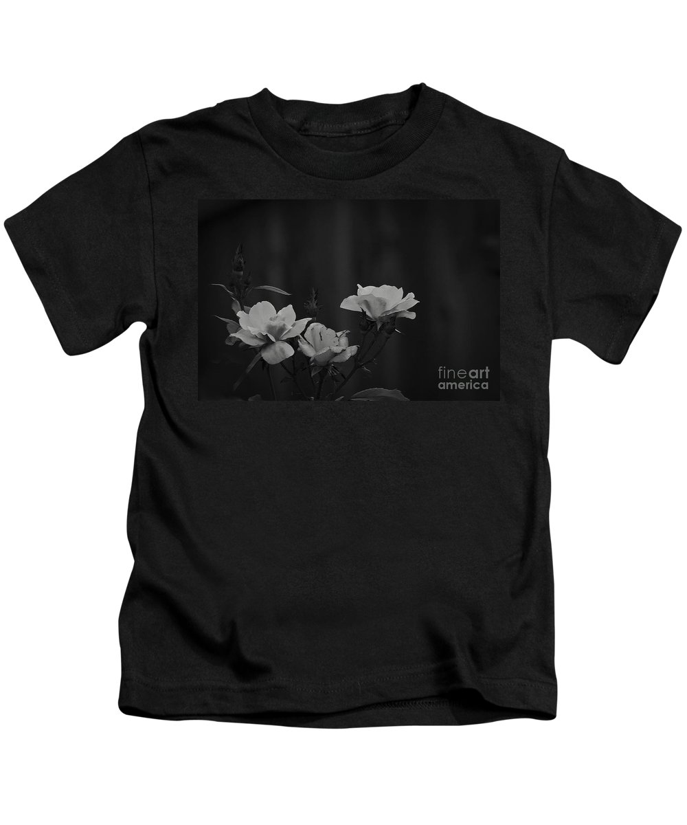 Roses Kids T-Shirt featuring the photograph Inner Strength by Kim Henderson
