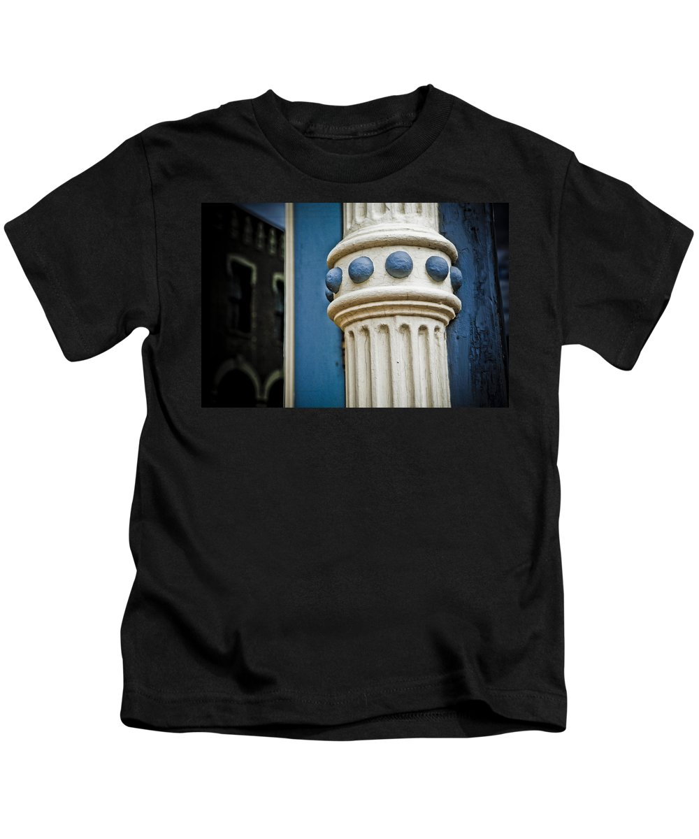 Central City Kids T-Shirt featuring the photograph Jeweled Architecture 2 by Marilyn Hunt