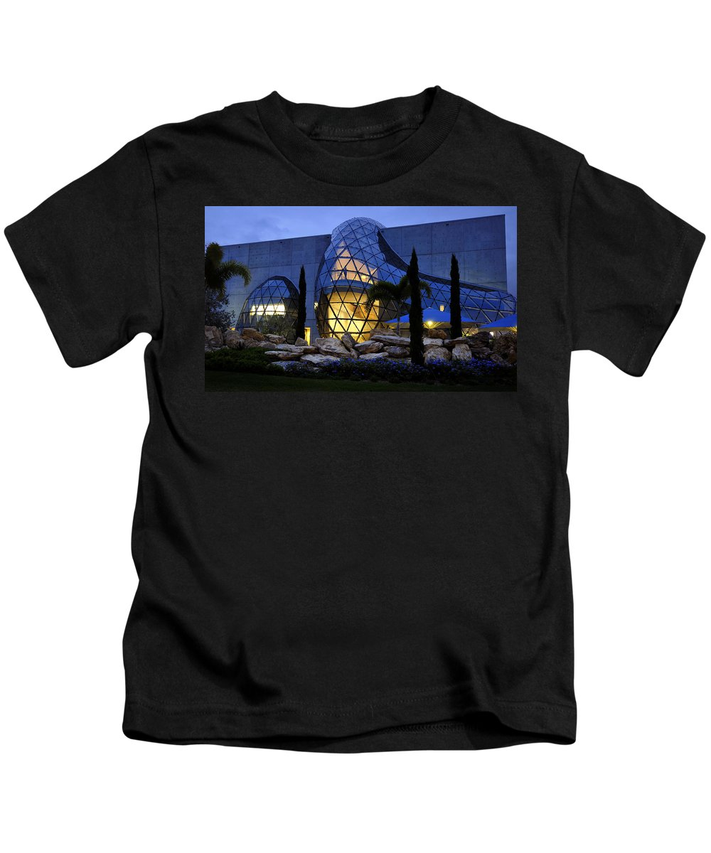 Fine Art Photography Kids T-Shirt featuring the photograph Lady In The Window by David Lee Thompson