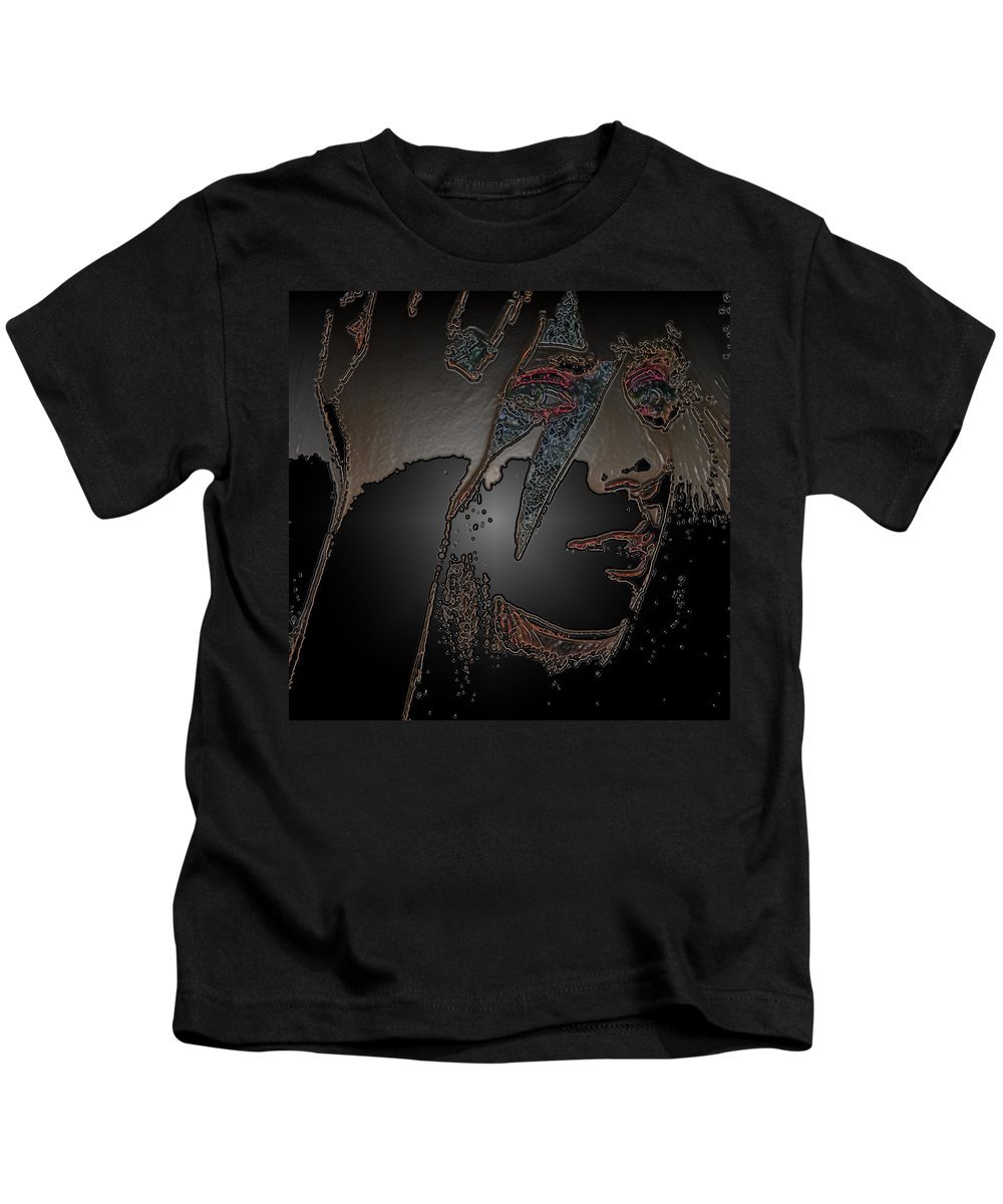 27 Photographs Kids T-Shirt featuring the photograph Ladygaga by The Artist Project