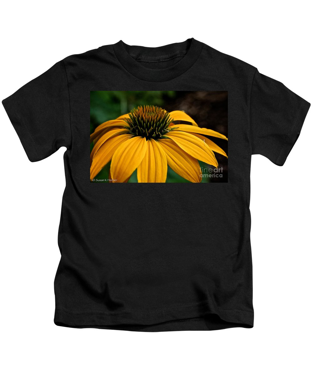 Outdoors Kids T-Shirt featuring the photograph Leilani by Susan Herber