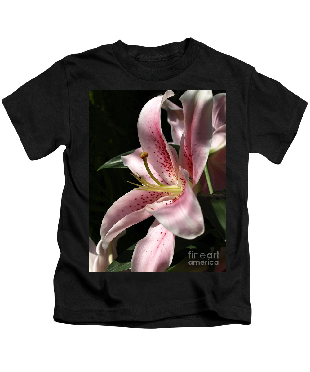 Lily Kids T-Shirt featuring the photograph Lily by Jacklyn Duryea Fraizer