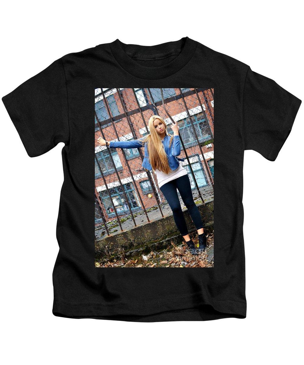 Yhun Suarez Kids T-Shirt featuring the photograph Liuda9 by Yhun Suarez