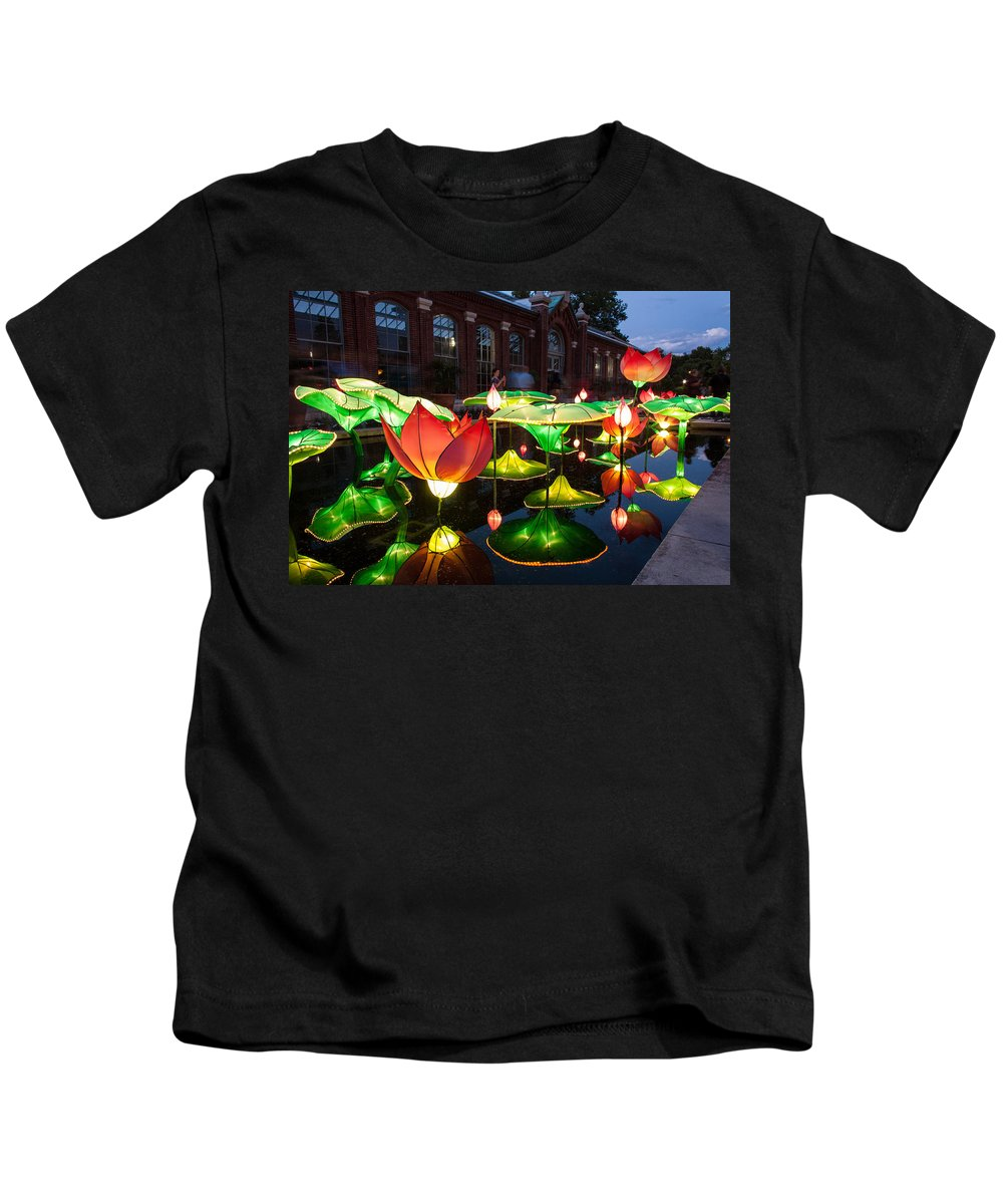 Art Kids T-Shirt featuring the photograph Lotus Flower by Semmick Photo