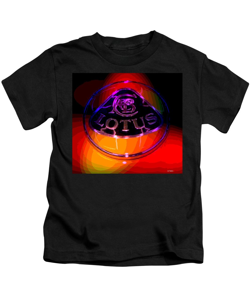Lotus Kids T-Shirt featuring the photograph Lotus by George Pedro