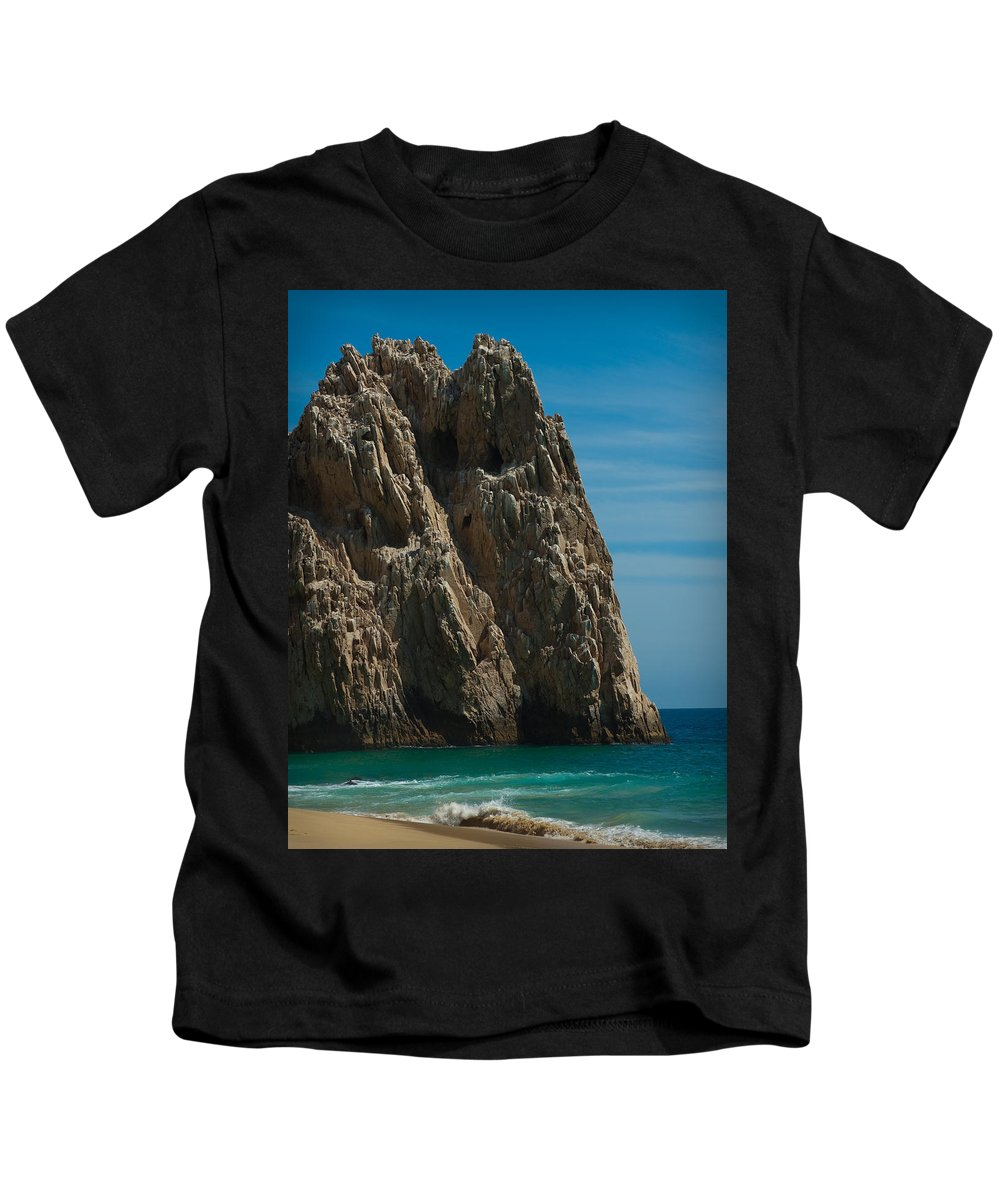 Beach Kids T-Shirt featuring the photograph Lovers Beach by Sean Wray