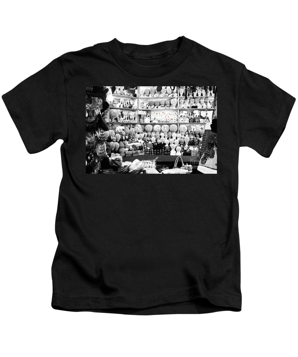 Village Kids T-Shirt featuring the photograph Marble Work In India by Sumit Mehndiratta