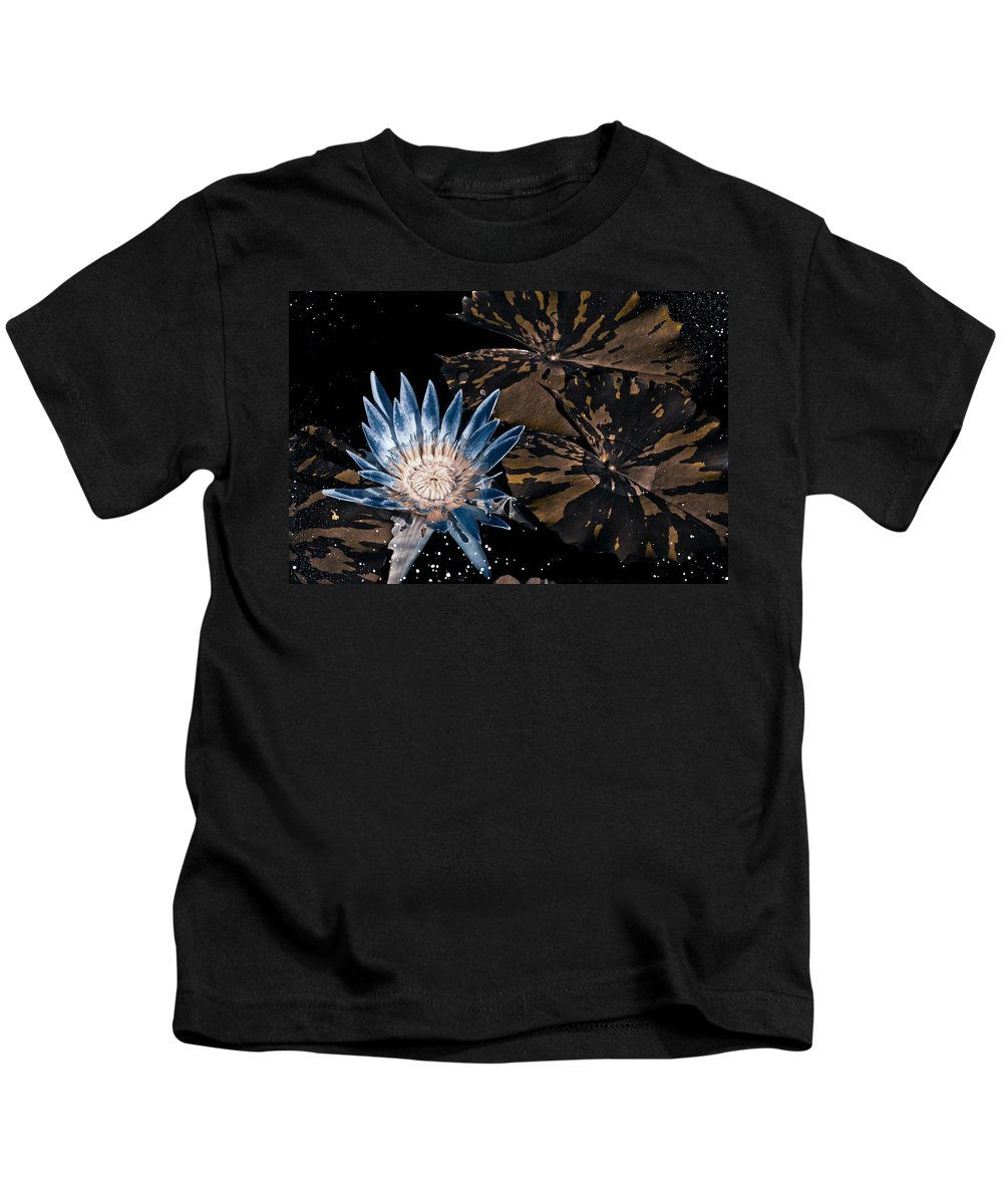 Water Kids T-Shirt featuring the photograph Midnight Train To Georgia by Trish Tritz