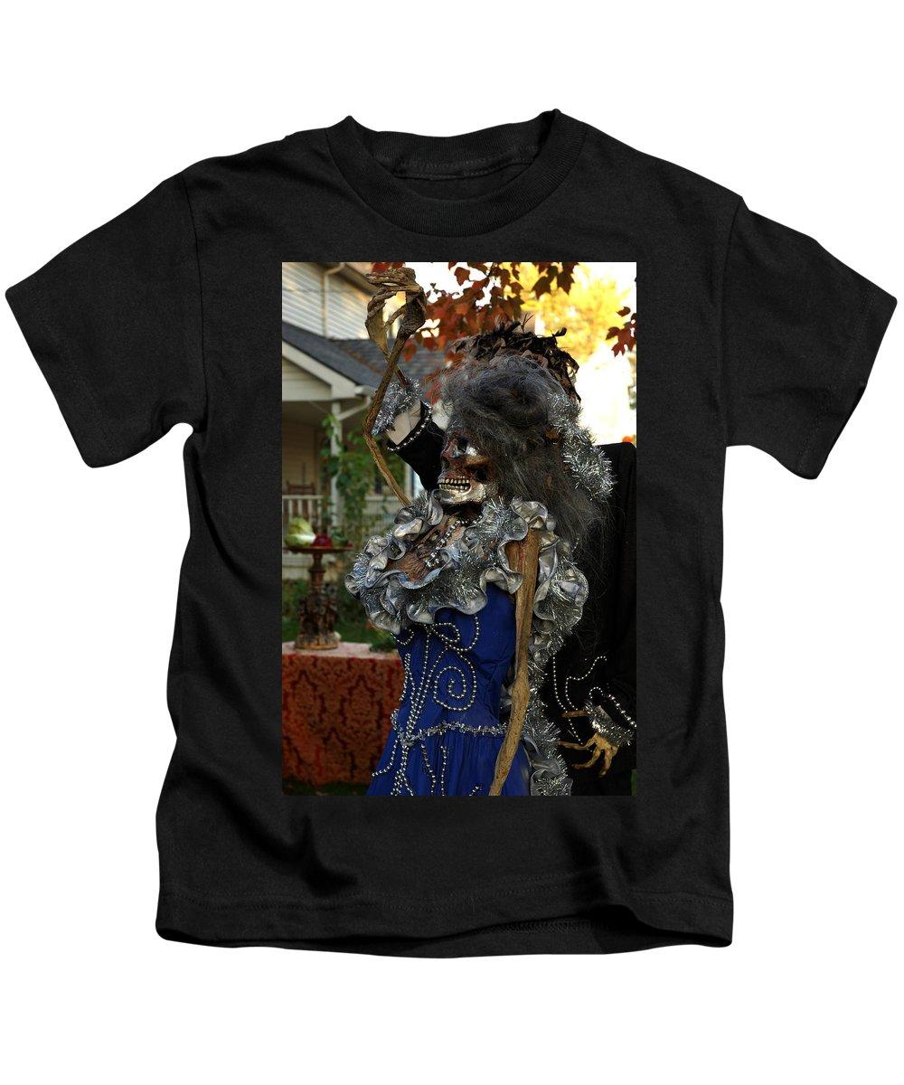 Usa Kids T-Shirt featuring the photograph Monsters Night Out by LeeAnn McLaneGoetz McLaneGoetzStudioLLCcom