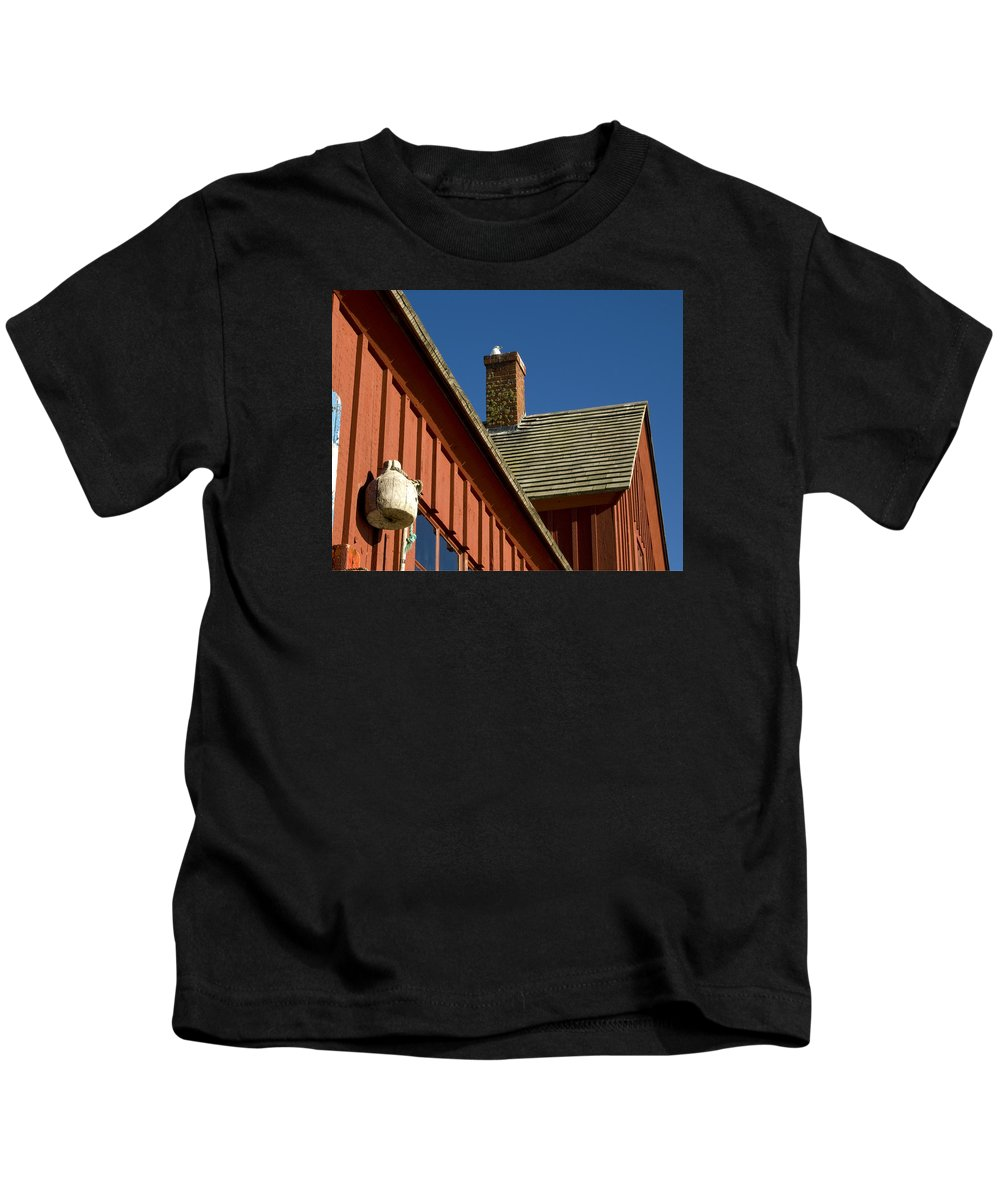 Motif No 1 Kids T-Shirt featuring the photograph Motif No 1 Angles by Dave Saltonstall