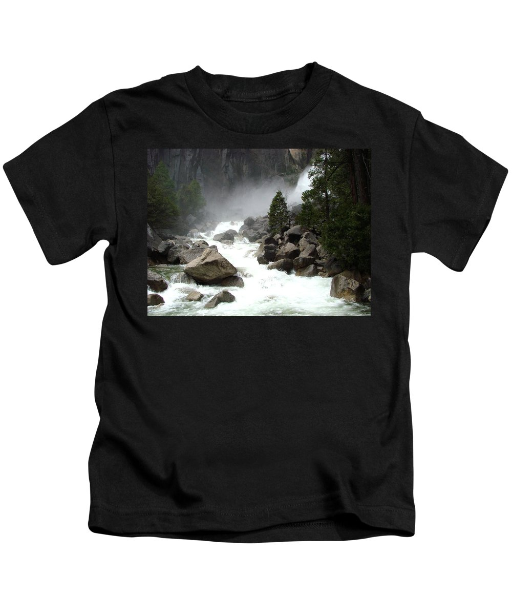 Reveal With My Own Voice Kids T-Shirt featuring the photograph Listen To Me by Rose Auld