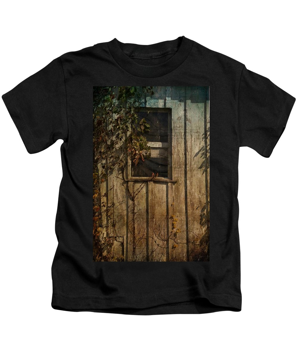 Window Kids T-Shirt featuring the photograph Musical Window by Trish Tritz