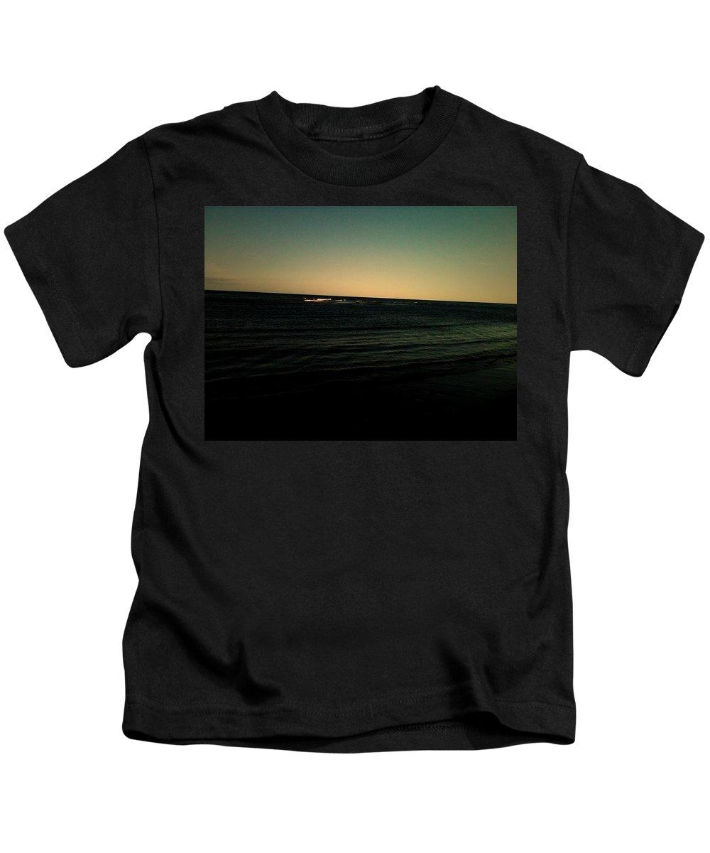 Ocean Kids T-Shirt featuring the photograph Mysterious by Valerie Nolan