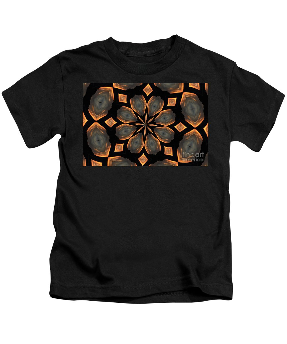 Kaleidoscope Kids T-Shirt featuring the photograph Nature Beauty by Donna Brown
