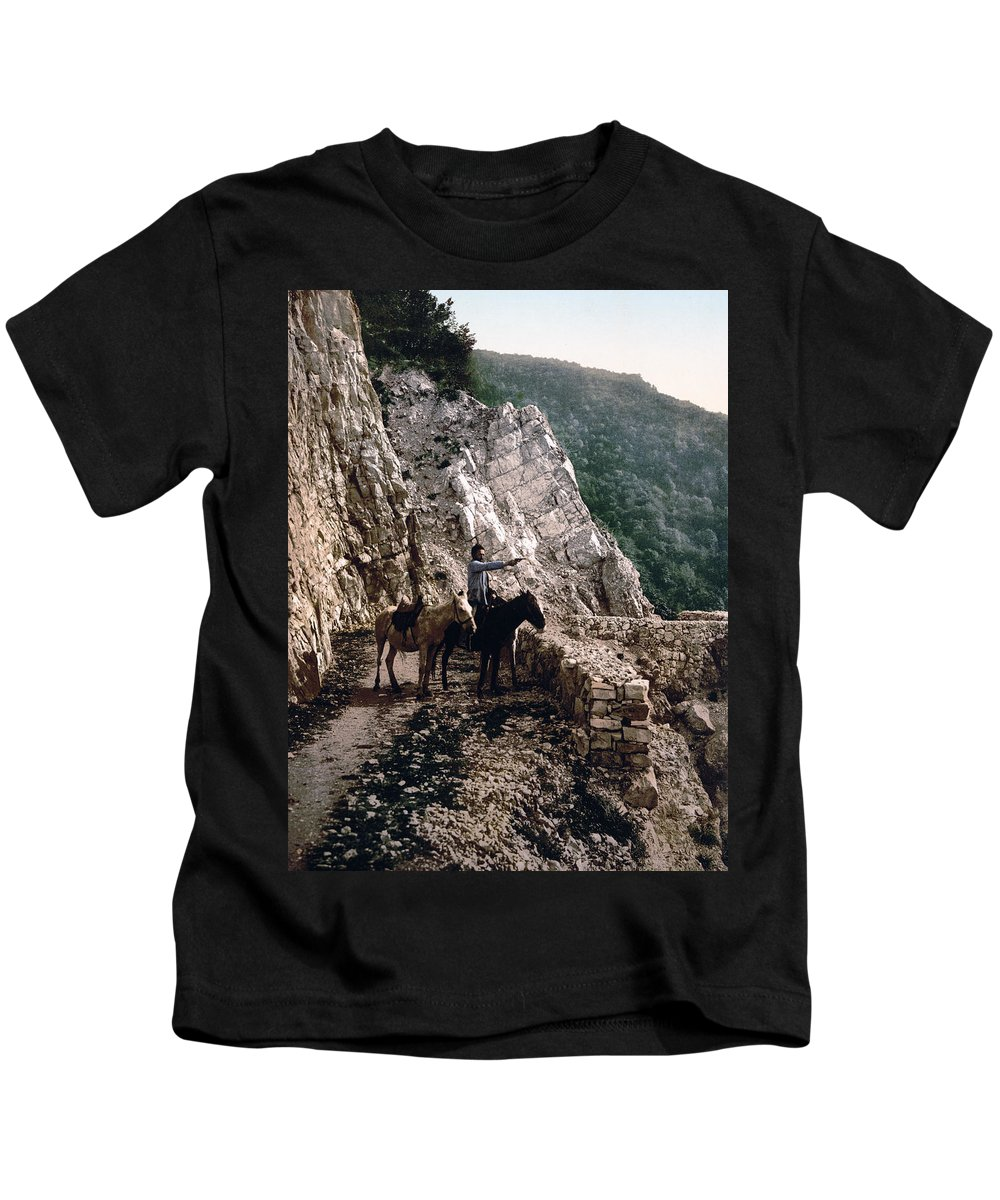 Russia Kids T-Shirt featuring the photograph Near The Bagatski Bridge - Caucasus - Russia by International Images