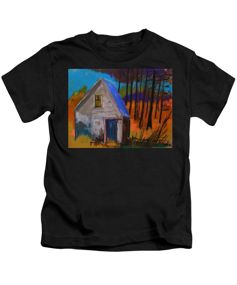 November Kids T-Shirt featuring the pastel November Sunset by John Williams