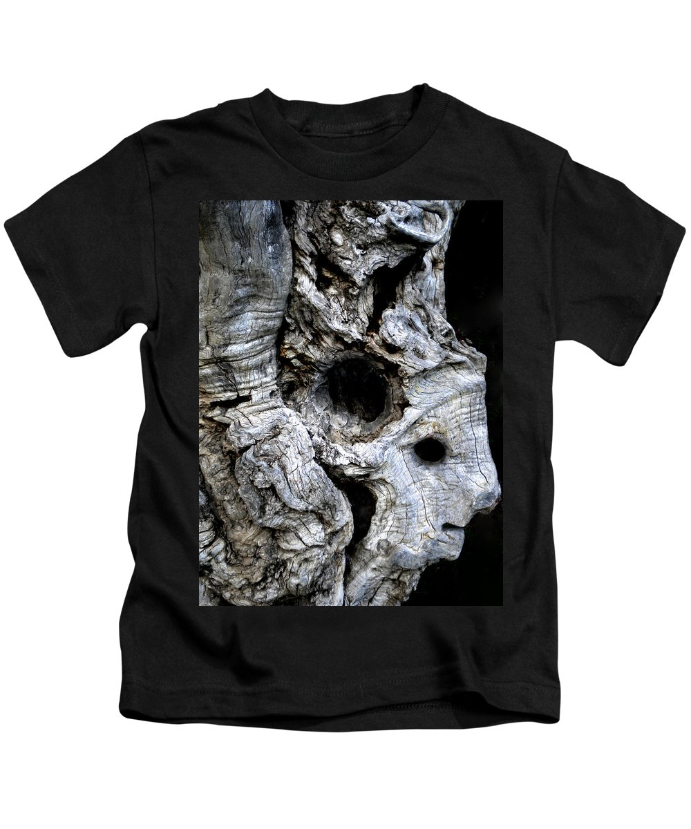 Colette Kids T-Shirt featuring the photograph Old Ancient Olive Tree Spain by Colette V Hera Guggenheim