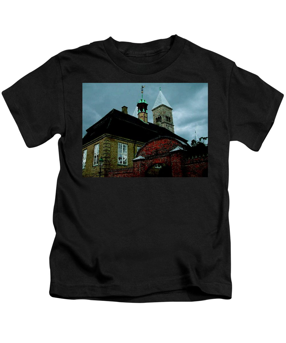 Colette Kids T-Shirt featuring the photograph Old Part Of Town by Colette V Hera Guggenheim