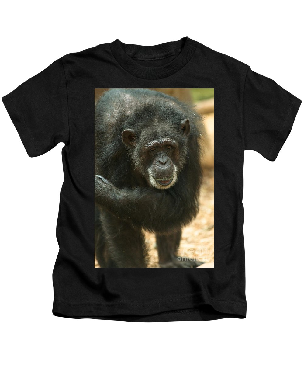 Old Kids T-Shirt featuring the photograph Old Timer by Andrew Michael