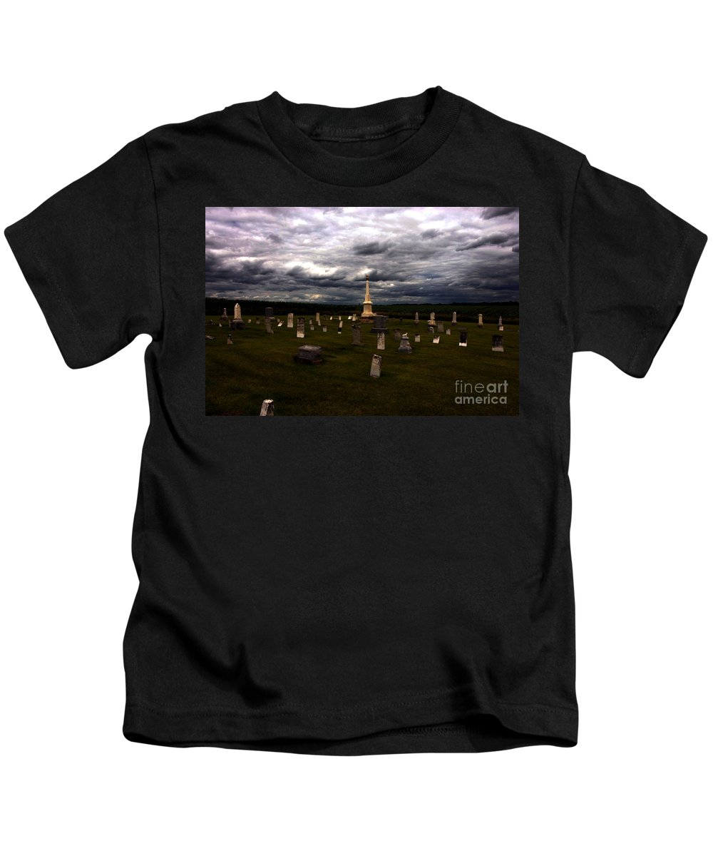 Angel Kids T-Shirt featuring the photograph Only Borrowed Time by Alan Look