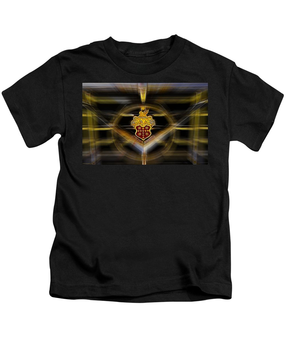 Digital Kids T-Shirt featuring the photograph Packard Fantasy by Mick Anderson
