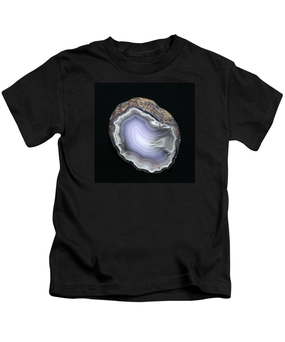 Agate Kids T-Shirt featuring the photograph Parcelas Agate by Bill Morgenstern
