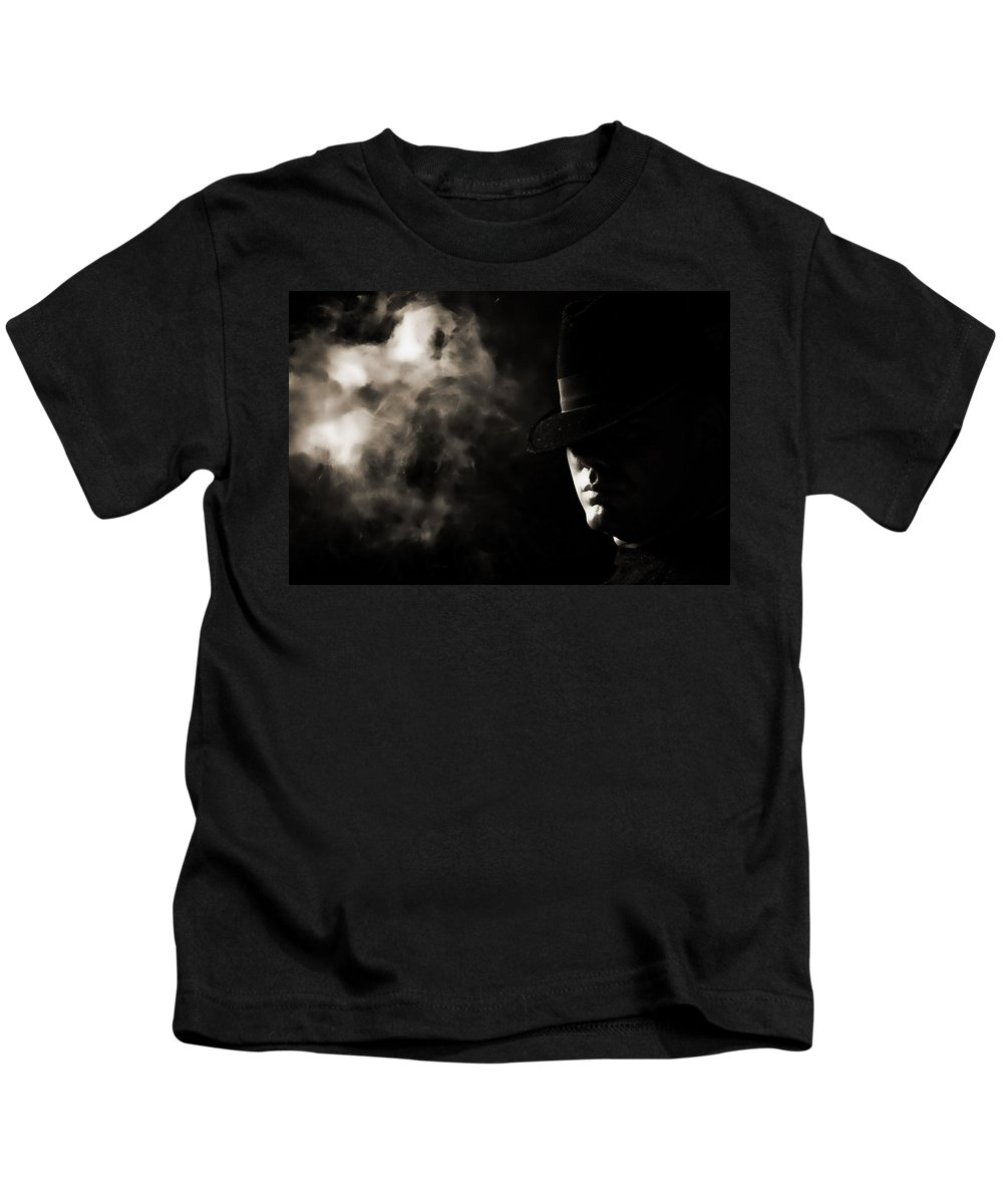 Phantom Kids T-Shirt featuring the photograph Phantom by Monte Arnold