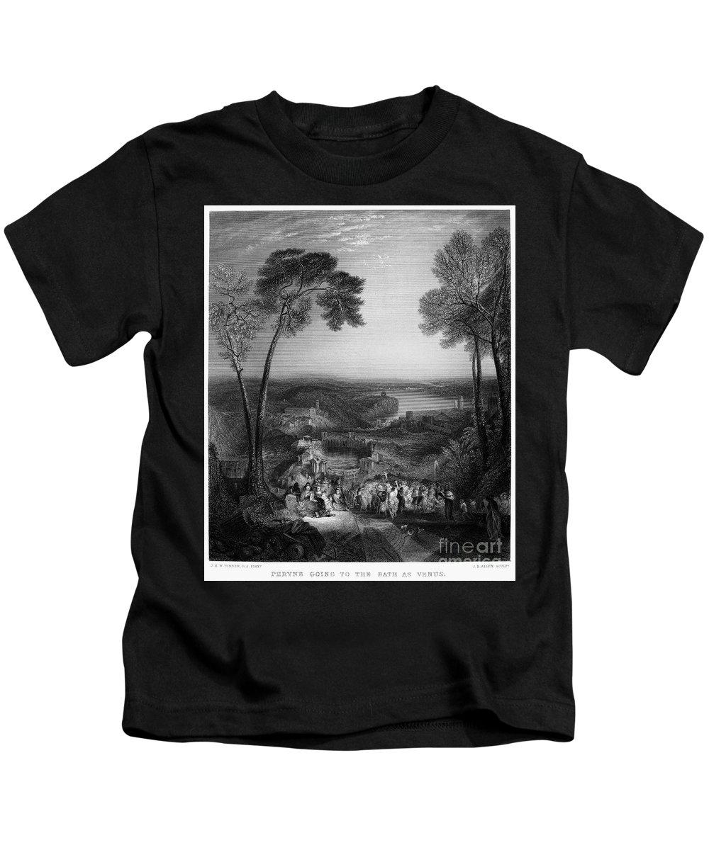 4th Century B.c Kids T-Shirt featuring the photograph Phryne (4th Century B.c.) by Granger