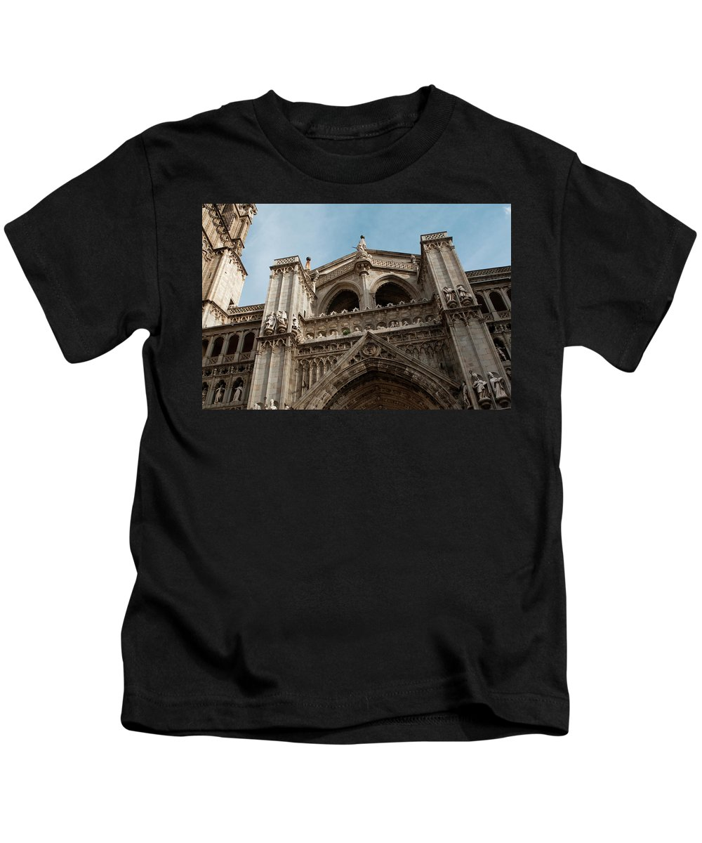 Primate Cathedral Kids T-Shirt featuring the photograph Primate Cathedral by Lorraine Devon Wilke