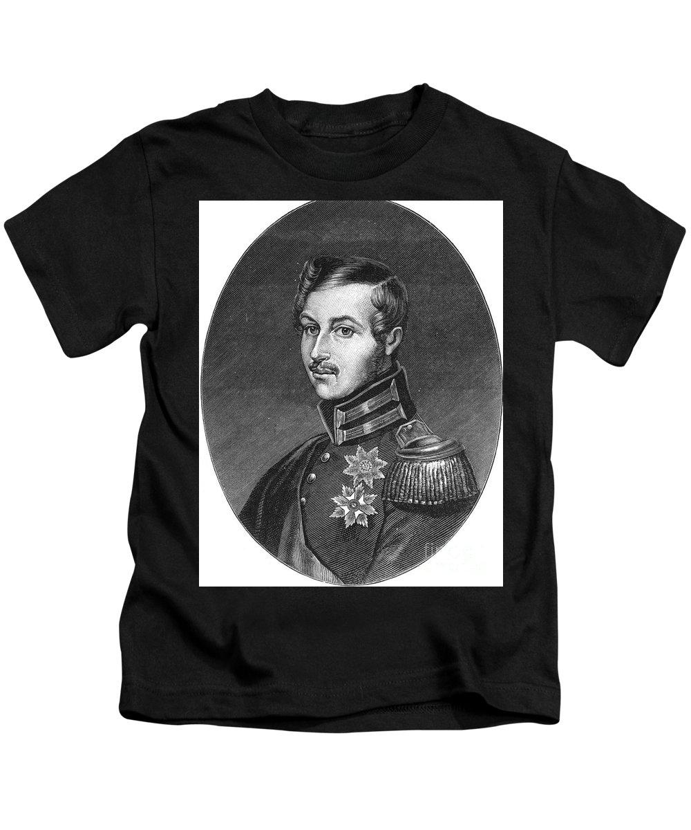 1886 Kids T-Shirt featuring the photograph Prince Albert (1819-1861) by Granger