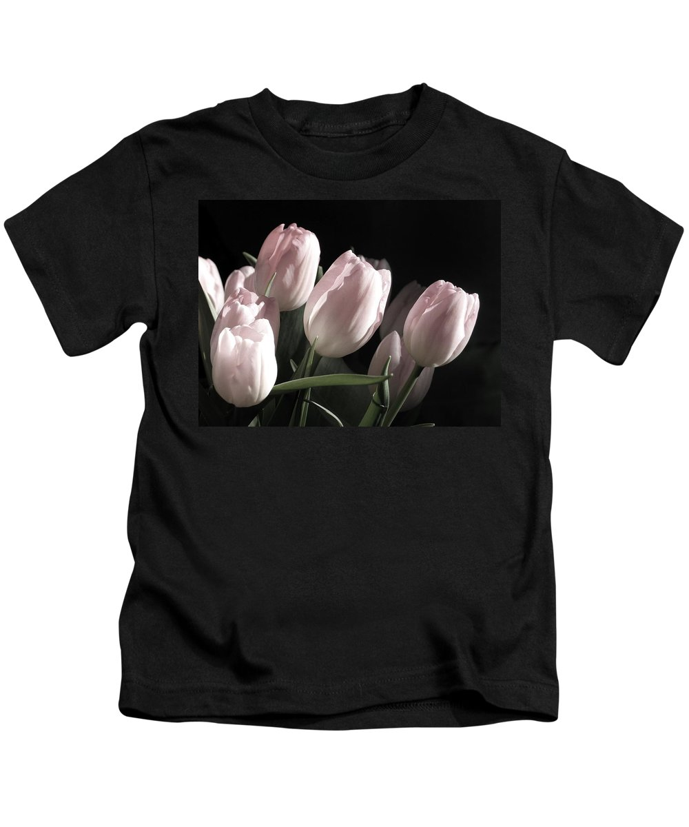 Tulip Kids T-Shirt featuring the photograph Printemps by Claudia Moeckel