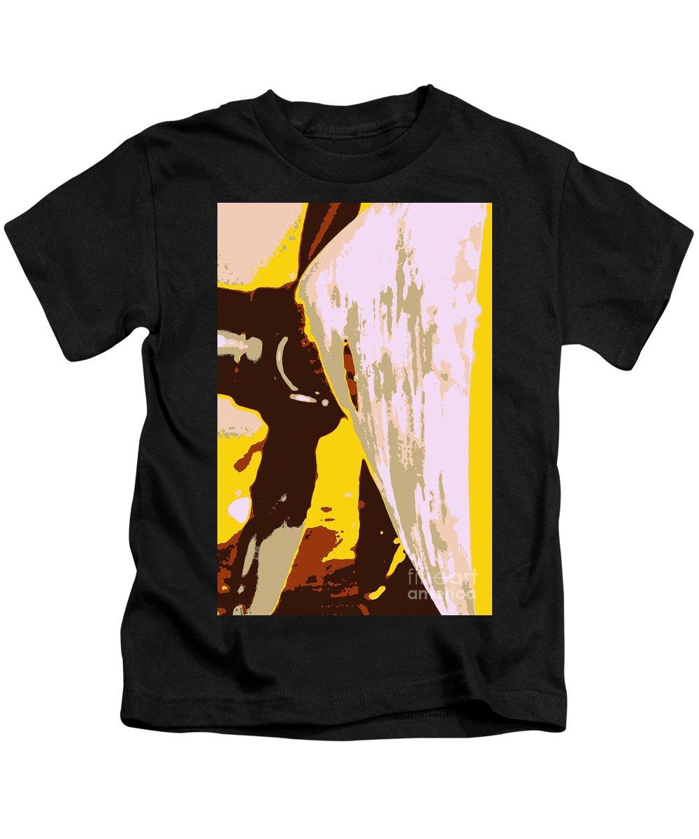 Airplane Kids T-Shirt featuring the photograph Propeller Blade by Samantha Glaze