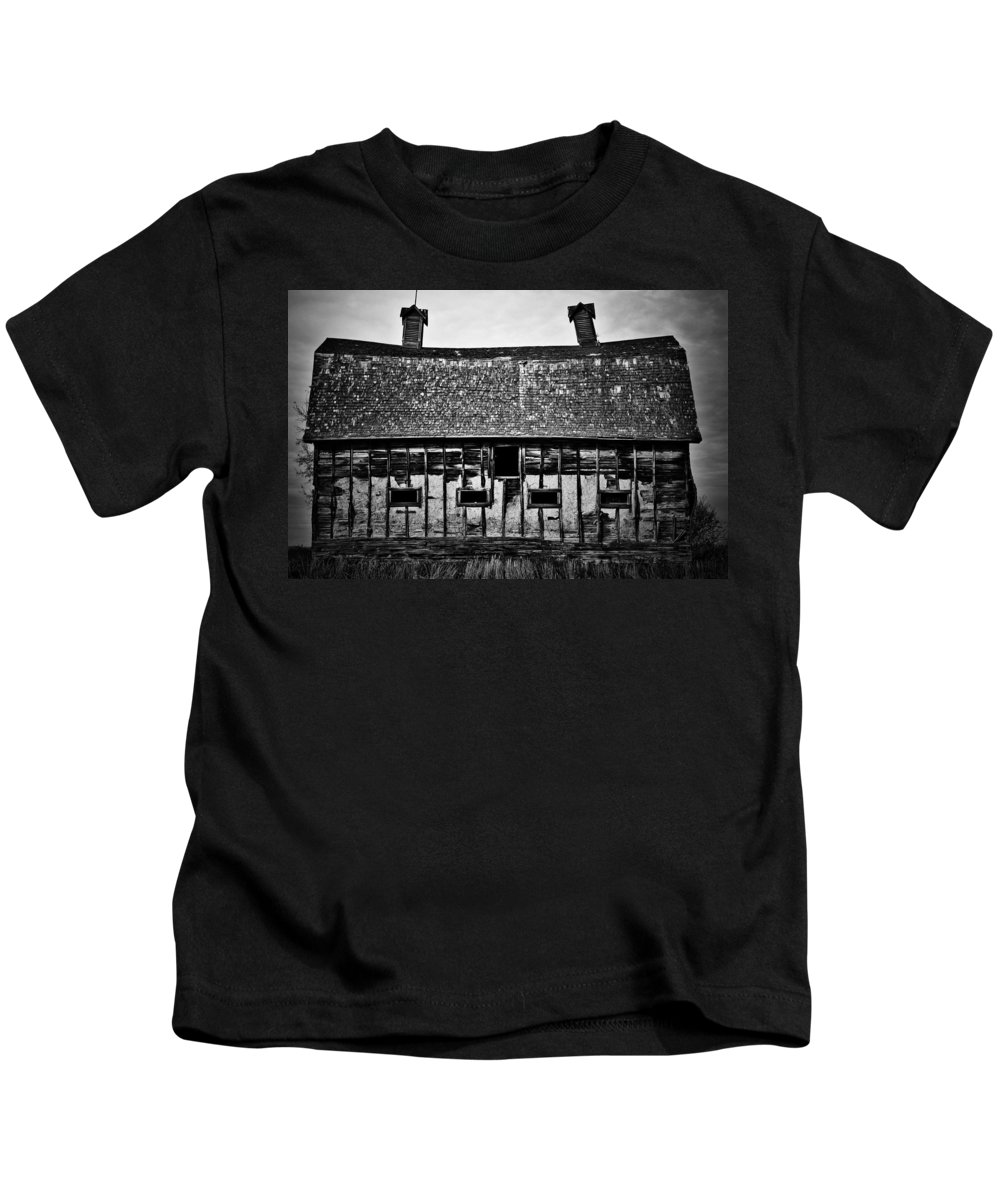 Photographer Kids T-Shirt featuring the photograph Requiem Hall by The Artist Project