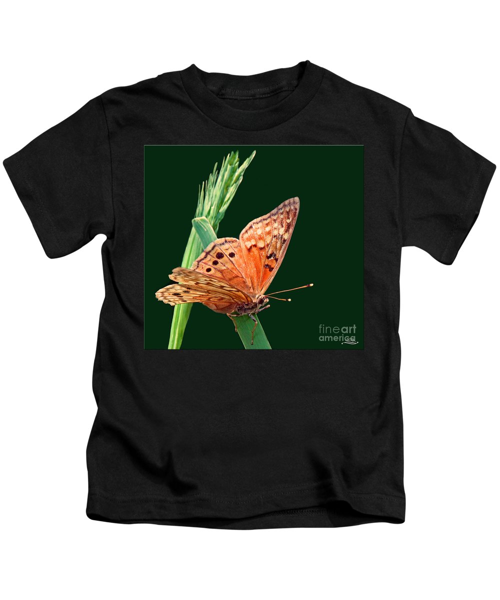Nature Kids T-Shirt featuring the photograph Rest Stop by Rebecca Morgan