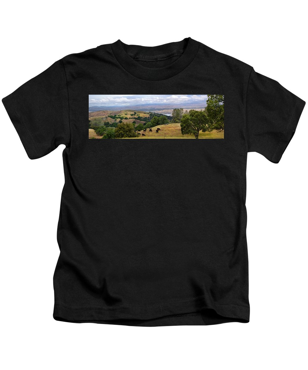 Livermore Kids T-Shirt featuring the photograph Rocky Ridge by Karen W Meyer