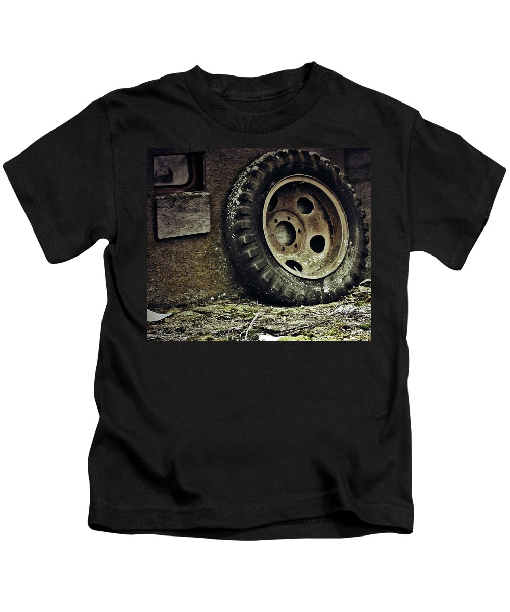 Street Photography Photographs Photographs Kids T-Shirt featuring the photograph Roll The Dice by The Artist Project
