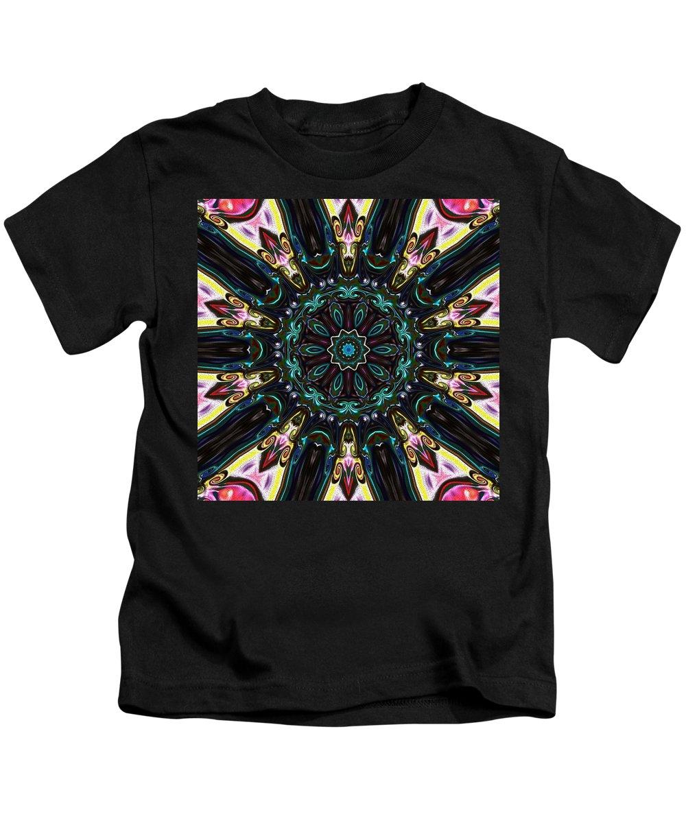 Crest Kids T-Shirt featuring the digital art Royal Wedding by Alec Drake