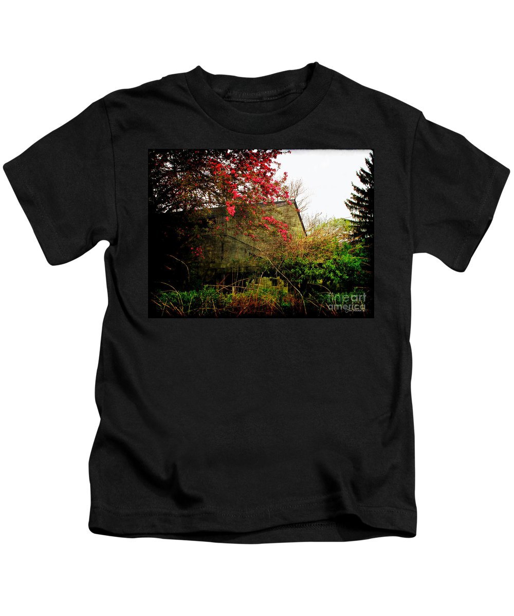 Spring Kids T-Shirt featuring the photograph Rural America by Joan Minchak